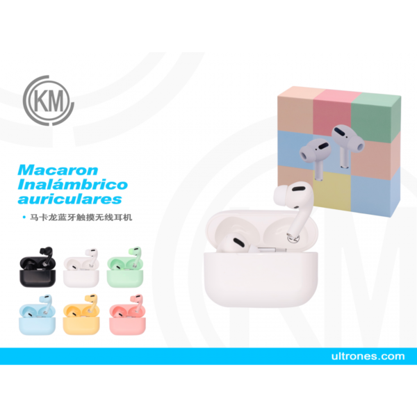 Auricular Colores Bluetooth Inpods 3